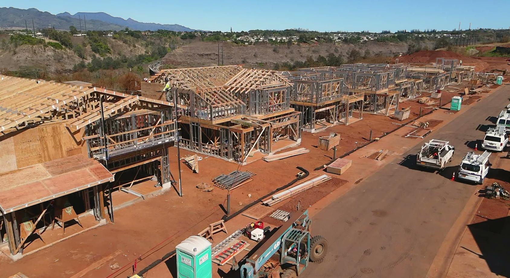 September 30 Nanea at Koa Ridge Phase 2 Construction
