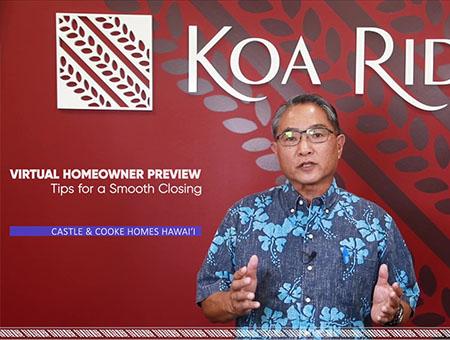 Koa ridge Homeowner Preview Video