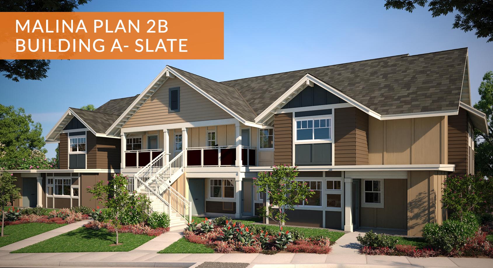 Malina at Koa Ridge Plan 2B1 - Building A Slate